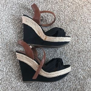 Material Girl Wedge Sandals